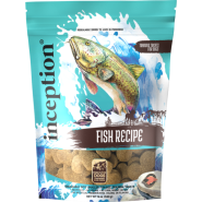Inception Dog Fish Biscuit Treats 12 oz