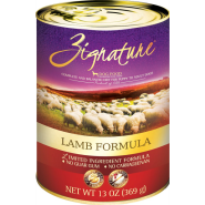 Zignature Dog LID GF Lamb 12/13 oz
