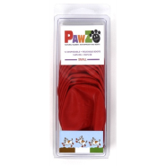"Pawz Small to 2.5"" Red 12 pk"