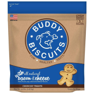Buddy Biscuits Oven Baked Crunchy Treats Bac&Cheese 3.5 lb