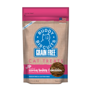 Buddy Biscuits Cat Treats Savory Turkey&Cheddar 3 oz
