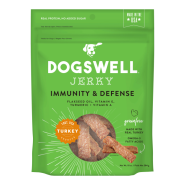 Dogswell Jerky GF Immunity & Defense Turkey Treats 10 oz