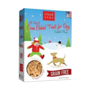 Cloud Star Holiday Grain Free Oven Baked Treats with Pumpkin