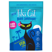 Tiki Cat Born Carnivore GF Fish Luau Trials 9 oz