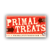 Primal Treat Shelf Talker