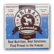 Primal Raw Food Aisle Dangler