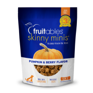Fruitables Dog Skinny Minis Pumpkin/Berry Chewy Treats 141 g