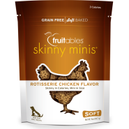 Fruitables Dog Skinny Minis Chicken Chewy Treats 141 g
