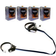 Safespot Locking Leash Display with 4 pieces