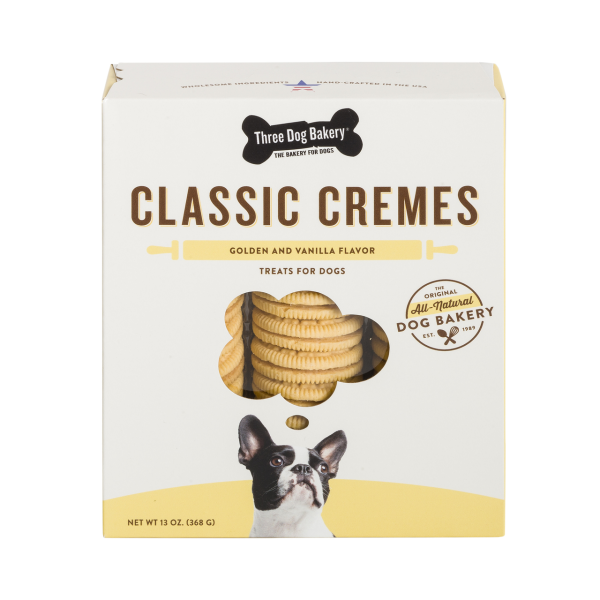 3Dog Classic Cremes Golden w VN Filling 13 oz - Pan Pacific Pet