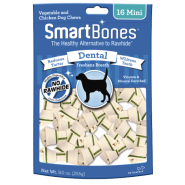SmartBones Dental Chews Chicken MINI 16 pk