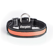 Energizer Dog Blaze USB Collar Orange LG