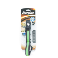 Energizer Dog Blaze USB Collar Green MED