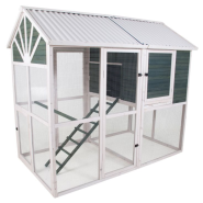 Precision Sunrise Walk-In Chicken Coop Box 1
