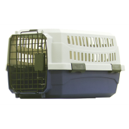 "Pet Kennel Blue/Gray 23"" SM"