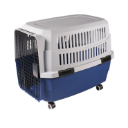 "Pet Kennel Blue/Gray 28"" MED"