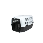 "Pet Kennel Small - 23 x 15.7 x 10.4"" Black/Gray"