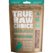 TRC Dog/Cat Dehydrated Raw Treats Duck Feet 110 g