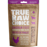 TRC Dog/Cat Dehydrated Raw Treats Chicken Feet 110 g