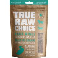TRC Dog/Cat Dehydrated Raw Treats Duck Wings 110 g