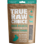 TRC Dog/Cat Dehydrated Raw Treats Duck Heart 60 g
