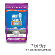 NB Cat Indoor Ultra Ckn Meal&Salmon Meal Trial 25/2 oz