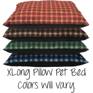 Pillow Pet Bed XL Colours Will Vary 35x44""