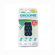 FFD Pet Groomie Multi-Purpose Silicone Brush Gray Bone