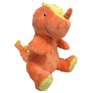 FouFIT Dino Plush Toy Orange SM