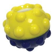 FouFIT Bumper Treat Ball 3""