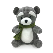 FouFIT Woodland Spiker Toy Raccoon