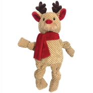 FouFIT Very Merry Knotted Toy Reindeer LG