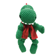 FouFIT Very Merry Knotted Toy Dino LG