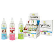 FFD Pet Assorted Spritzers 3-in-1 Body Spray Display 6 ct