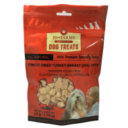 JD Farms Dog Turkey Freeze Dried Treats 50 gm