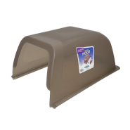 ScoopFree Litter Box Privacy Hood Taupe