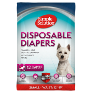 Simple Solution Disposable Diapers Small 12 pk