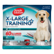 Simple Solution XL Training Pads 50 pk
