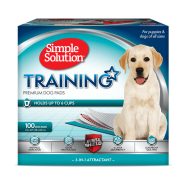 "Simple Solution Original Training Pads 23x24"" 100 ct"