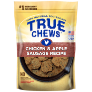 Tyson TrueChews Chicken and Apple Sausage Recipe 12 oz 6 ct