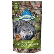 Blue Wilderness Dog Bayou Blend Biscuits 8 oz