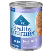 Blue Cat Healthy Gourmet Flaked Tuna in Gravy 12/12.5 oz