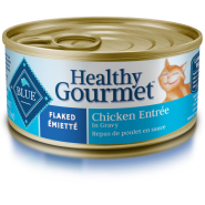 Blue Cat Healthy Gourmet Flaked Chicken in Gravy 24/5.5 oz