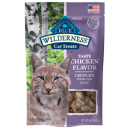 Blue Wilderness GF Cat Crunchy Treats Chicken 2 oz