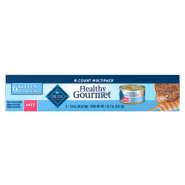 Blue Cat Healthy Gourmet Kitten Pate MultiPack 6/3 oz