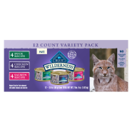 Blue Wilderness Cat Adult Variety Pack 12/3 oz