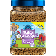 Blue Kitty Cravings Crunchy Chicken 12 oz
