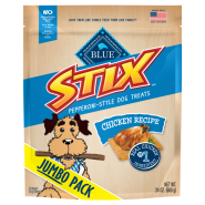 Blue Dog Blue Stix Chicken Recipe Jumbo Pack 24 oz