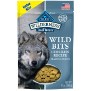 Blue Dog Wilderness Wild Bits Chicken 10 oz