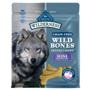 Blue Wilderness Wild Treat Dental Bones Mini 27 oz
